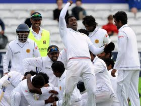Sri Lanka Vs Pakistan - 2nd TestDay 5: Lanka beat rain, Pakistan to level series