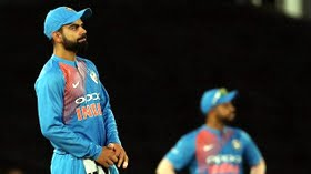 Kohli: Constant drizzle made it difficult for bowlers